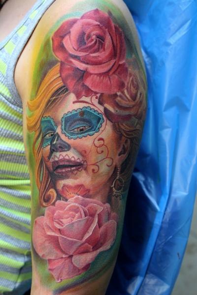 electrographic,tattoo,rosenheim, la catrina, 83026