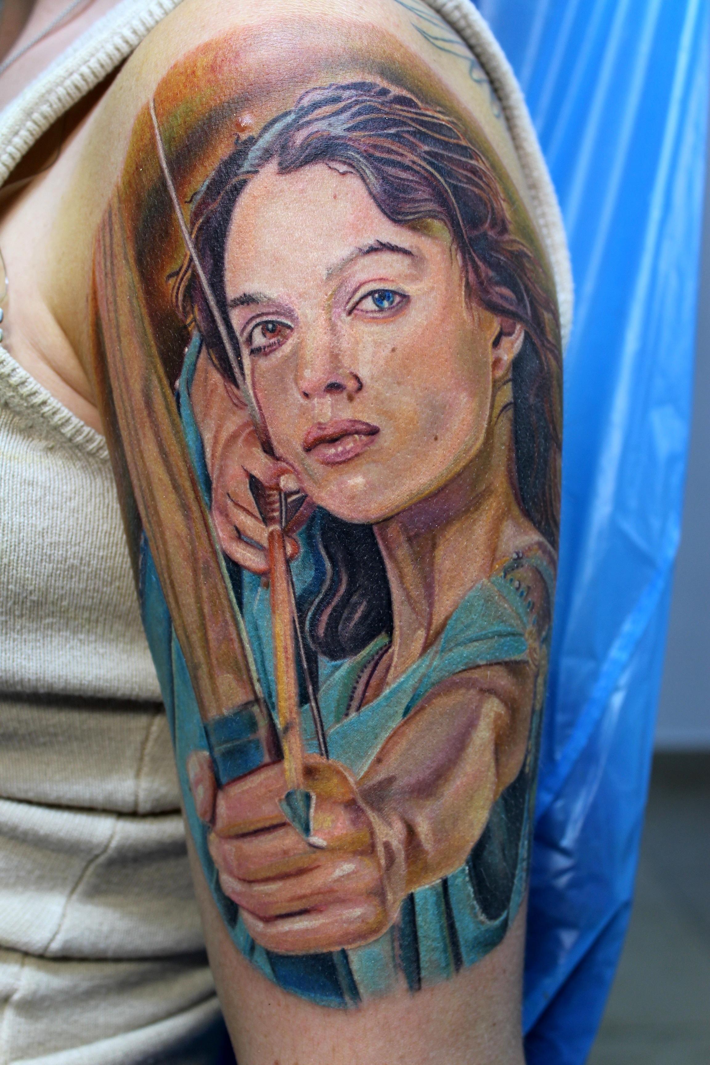 Electrographic tattoo rosenheim Petra